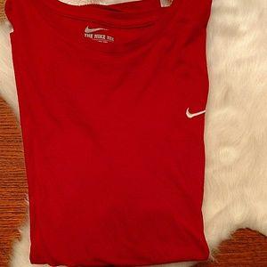 Nike Shirts - Men's red Nike shirt. Size XXL